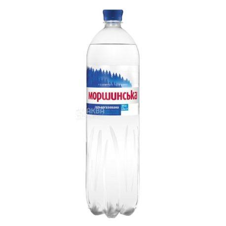 Моршинська, 1,5 л, Вода сильногазована, ПЕТ