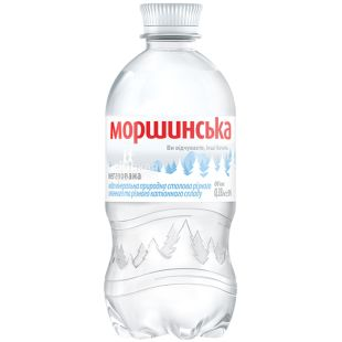 Моршинська, 0,33 л, Вода мінеральна негазована, ПЕТ
