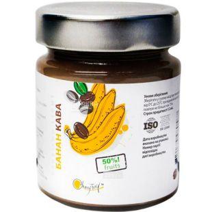 Cherry Twig, 225 г, Конфитюр Банан с кофе, добавка фруктовая пастеризованная