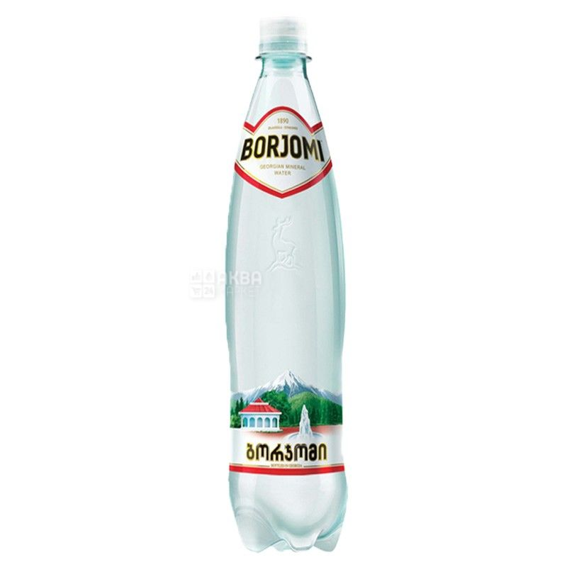 Borjomi, 0,75 л, Вода сильногазированная, Минеральная, ПЭТ