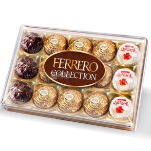 Ferrero Rocher, Collection Т15, 172 г, Конфеты