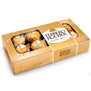 Ferrero Rocher, 100 г, Ферреро, Набор конфет с лесным орехом
