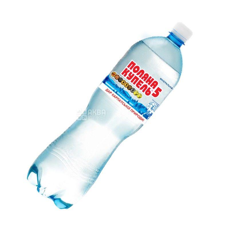 Поляна Купель-5, 1,5 л, Вода мінеральна газована, ПЕТ