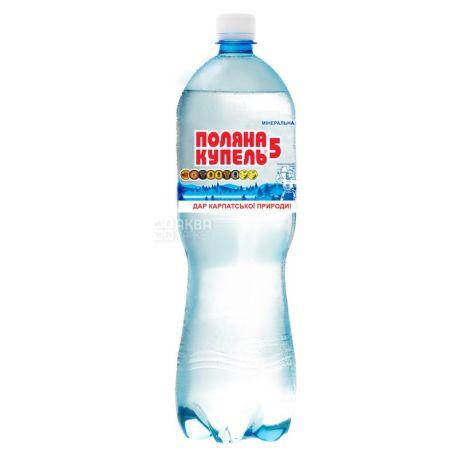 Поляна Купель-5, 1,5 л, газированная вода, ПЭТ