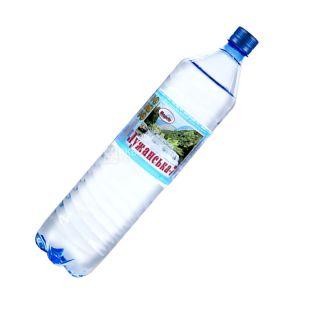 Лужанская-7, 1,5 л, Вода минеральная газированная, ПЭТ