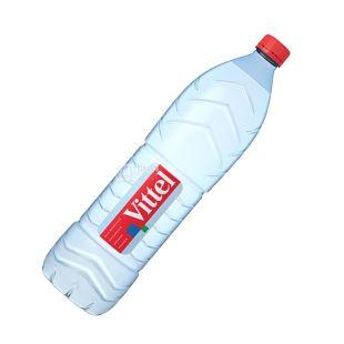 Vittel, Вода минеральная негазированная, 1,5 л, ПЭТ