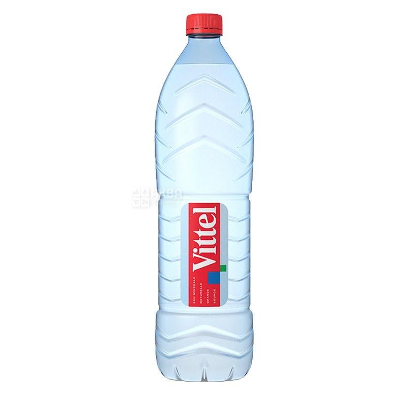 Vittel, 1,5 л, Віттель, Вода мінеральна негазована, ПЕТ