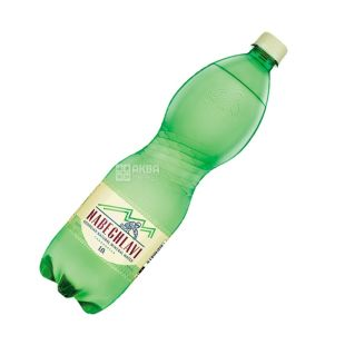 Nabeglavi, 1 liter, highly carbonated water, PET, PAT
