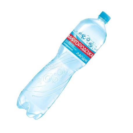 Миргородская, 1,5 л, Вода слабогазированная, Минеральная, Лагидна, ПЭТ