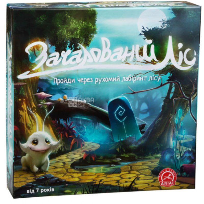 Arial, Настольная игра, Заколдованный лес, для детей от 7-лет