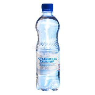 Рогатинська, 0,5 л, газована вода,  Джерельна, ПЕТ