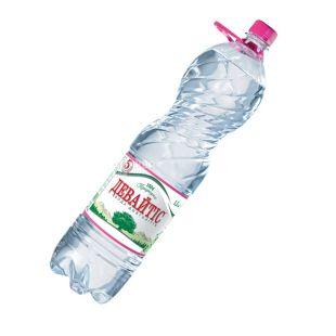 Девайтіс, 1,5 л, Вода негазована, ПЕТ