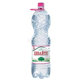 Девайтис, 1,5 л, Вода негазированная,  ПЭТ