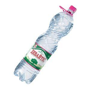 Девайтіс, 1,5 л, Вода слабогазована, Мінеральна, ПЕТ