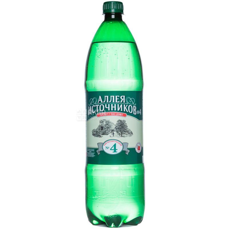 Essentuki-4, Avenue of Springs, Mineral water, 1.5 l, PET, PAT