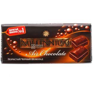 Millennium, Air Chocolate, 80 г, Шоколад пористий чорний, преміум