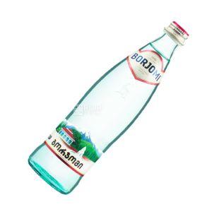Borjomi, 0,5 л, сильногазированная вода, стекло