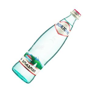 Borjomi, Вода мінеральна сильногазована, 0,5 л, скло