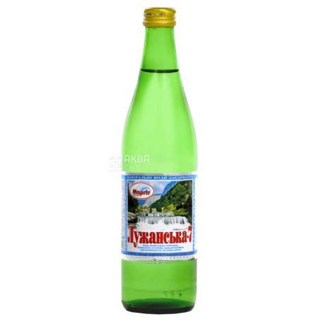 Лужанская-7, 0,5 л, Вода газированная, Минеральная, стекло,