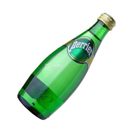 Perrier, 0,33 л, Пер'є, Води мінеральні сильногазована, скло