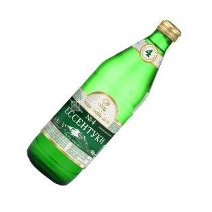 Essentuki-4, 0.54 l, Sparkling water, Mineral, glass, glass