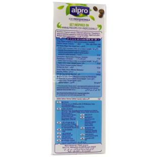 Alpro Coconut For Professionals, pack of 12pcs in 1 liter Coconut Milk Profeshinal