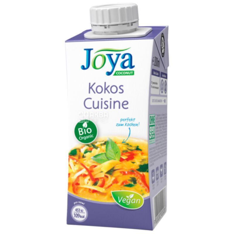 Joya Kokos Cuisine Organic, 200 мл, Джоя, Кокосовые сливки, кулинарные, органические