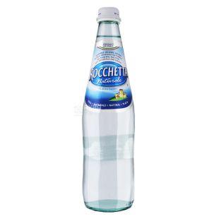 Rocchetta, 0,5 л, Вода негазированная, Минеральная, Naturale, стекло