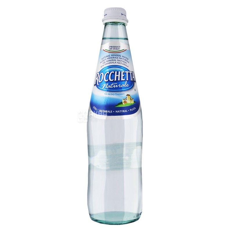 Rocchetta Naturale, 0,5 л, Рочетта Натурале, Вода минеральная негазированная, стекло