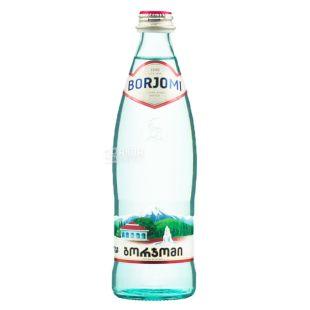 Borjomi, Вода минеральная сильногазированная, 0,33 л, стекло