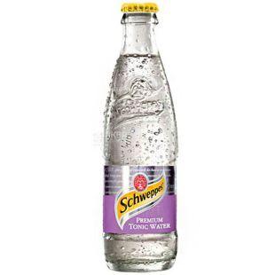 Schweppes, Premium Tonic, 0,25 л, Швепс, Премиум, Тоник газированный безалкогольный, стекло