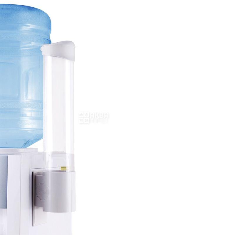 Ecotronic, Стаканодержатель белый на саморезах, 100 стаканов