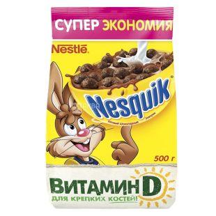 Nesquik, 0,5 кг, готовый завтрак, шоколадный