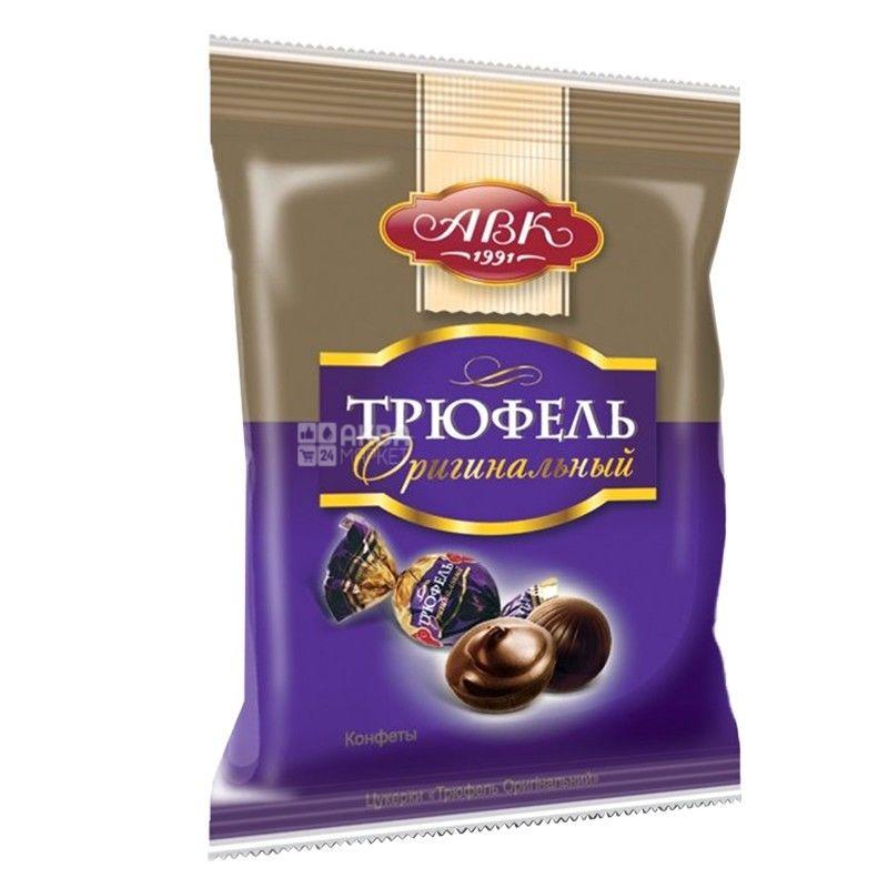 АВК, 200 гр, цукерки, шоколадні, Трюфель оригінальний