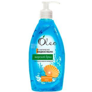 Oleo, 500 мл, Жидкое мыло, Морской бриз, антибактериальное