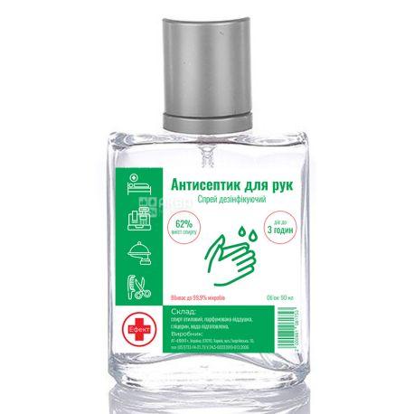 Спрей антисептический Эффект, 90 мл, 62% спирта
