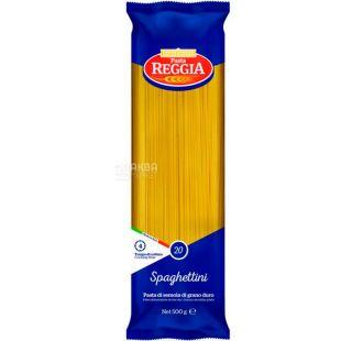Pasta Reggia, Spaghettini No. 20, 500 g, Pasta Reggia Pasta, Spaghettini