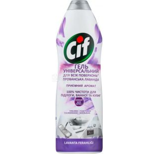 Cif, All-Purpose Universal Cleaning Gel, Lavender Provence, 750 ml