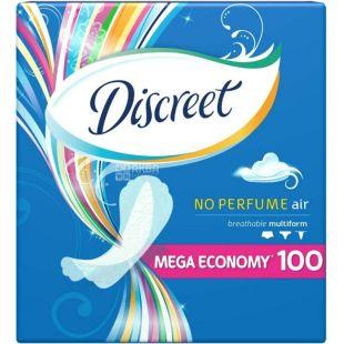 Discreet Air, Daily Sanitary Pads, 100 pcs