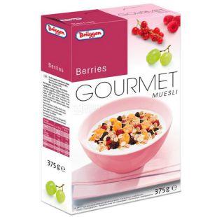 Bruggen Beeren, 375 g, Muesli with Berries and Juice Concentrates