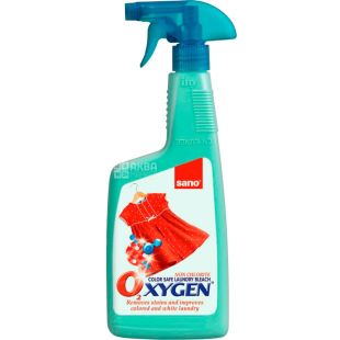 Sano Oxygen, 750 ml, Stain remover, stain remover