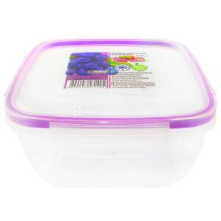 Fresh box, square Container, 1.5 l, 172x172x93 mm