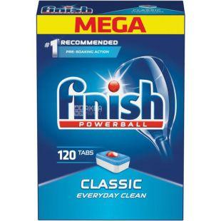 Finish Classic, Tablets for dishwashers, 120 pcs