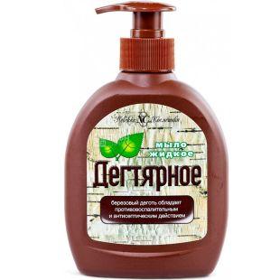 Nevskaya Cosmetics, 300 ml, Liquid soap, Tar