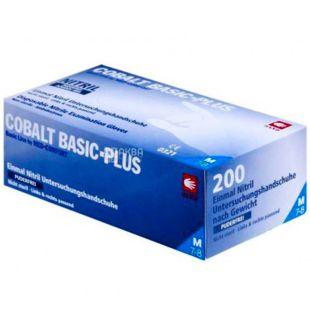 Cobalt Basic-Plus, 200 pcs., Non-sterile nitrile gloves, non-dusting, blue, Size M