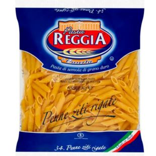 Pasta Reggia, Penne Ziti Rigate, 1 kg, Pasta Regia, Penne Ziti Rigate