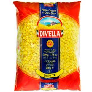 Divella Stelline No. 74, 500 g, Divella Stelline Pasta