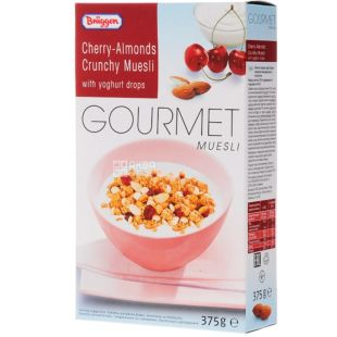 Bruggen Gourmet Jovita, 375 g, Cherry Almond Muesli with Yogurt