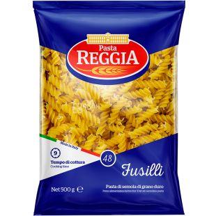 Pasta Reggia Fusilli № 48, 500 г, Макарони Паста Реггіа, Спіраль