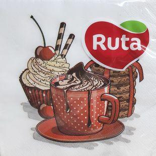 Ruta, 20 шт., Рута, Салфетки бумажные, Праздник приближается, 33х33 см